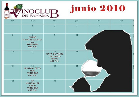 Vino Club panama junio 2010