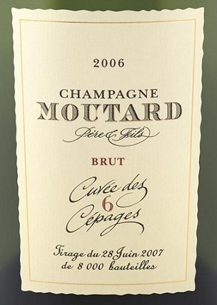 Champagne Moutard 6 cepages